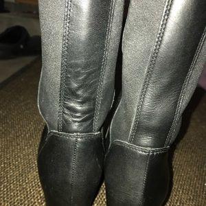 58267f0af57 Sorel Shoes - Sorel Fiona OTK Lux BLACK Wedge Boots